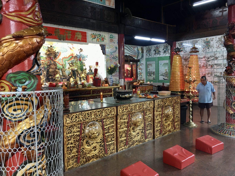Chińska świątynia w centrum stolicy Brunei