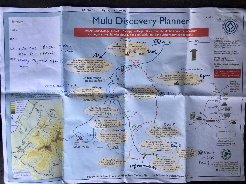 Dokładne zaplanowanie pobytu w Mulu to podstawa