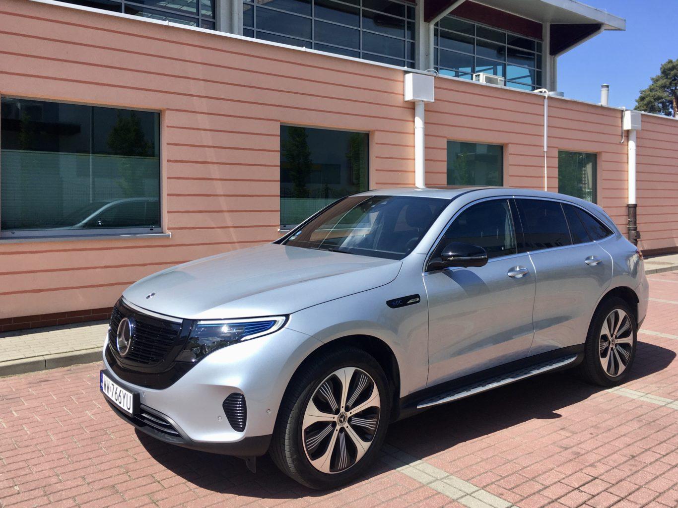 Mercedes EQC to pełnokrwisty elektryk