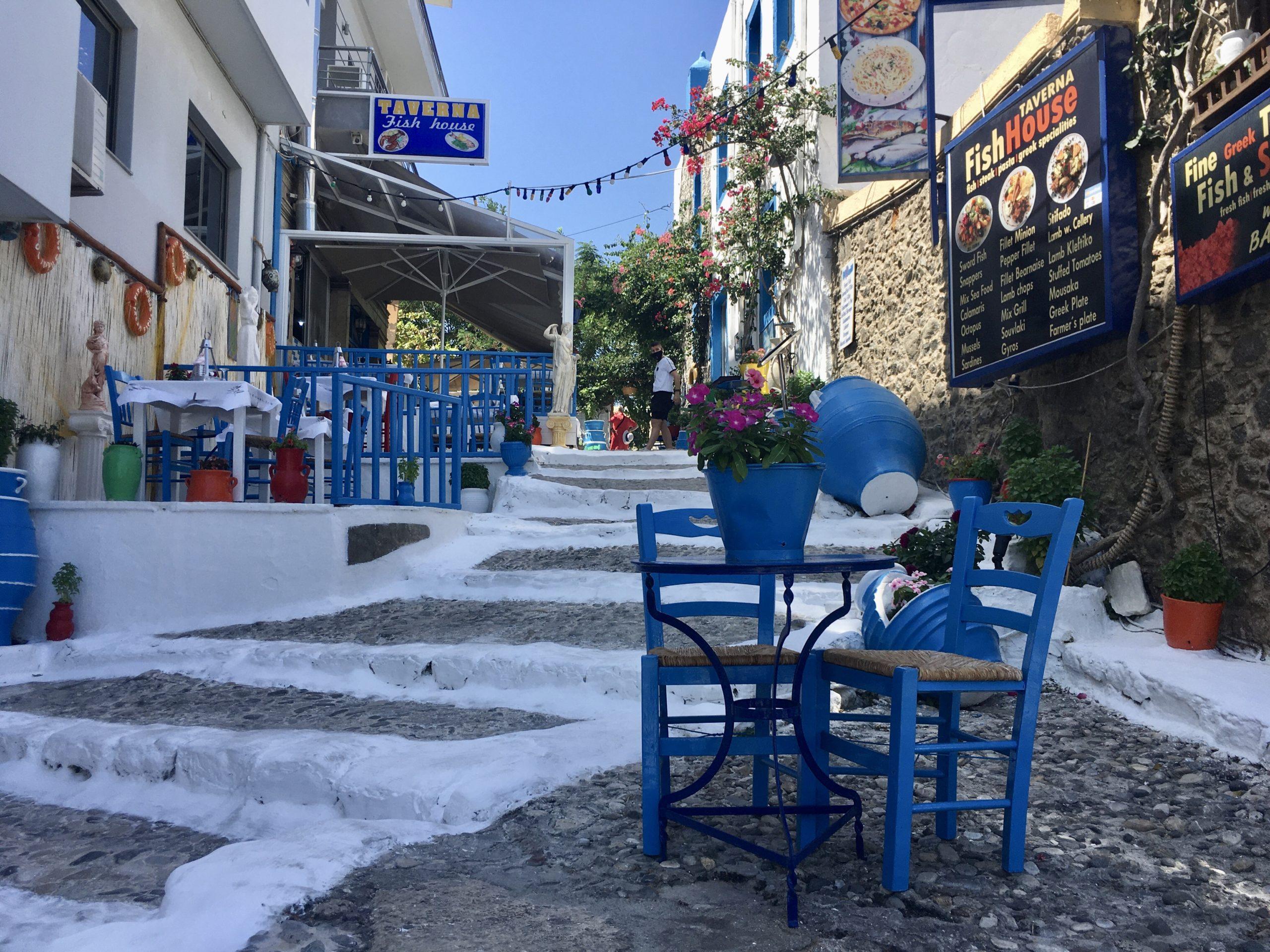 W mieście Kos jest wiele urokliwych miejsc