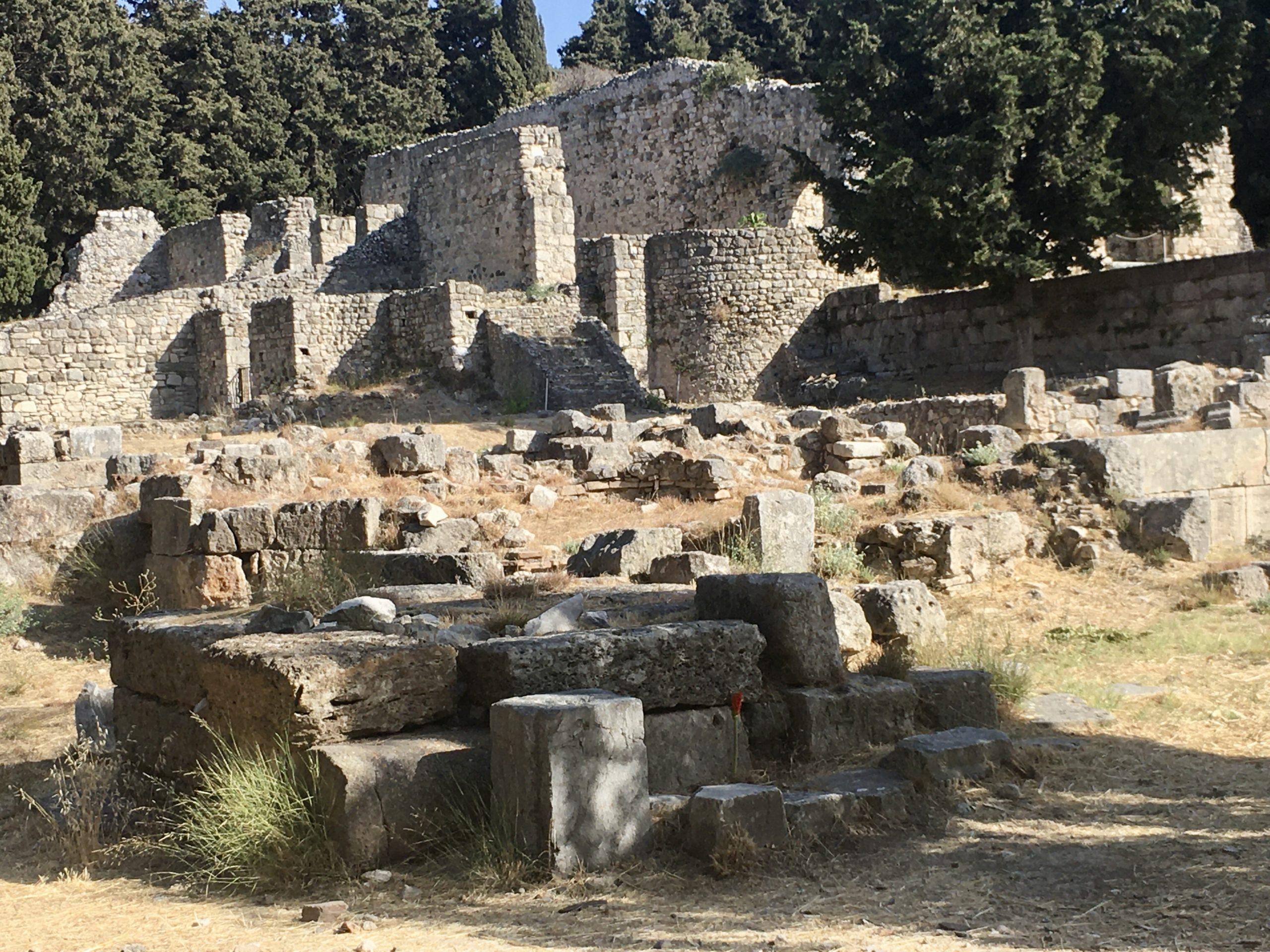 Asklepjon - tu nauczał Hipokrates
