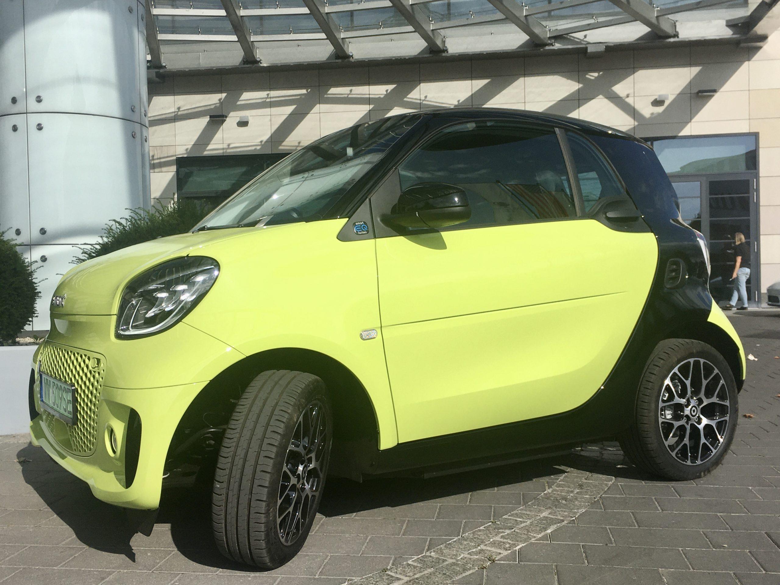 Smart For Two to małe, elektryczne miejskie auto