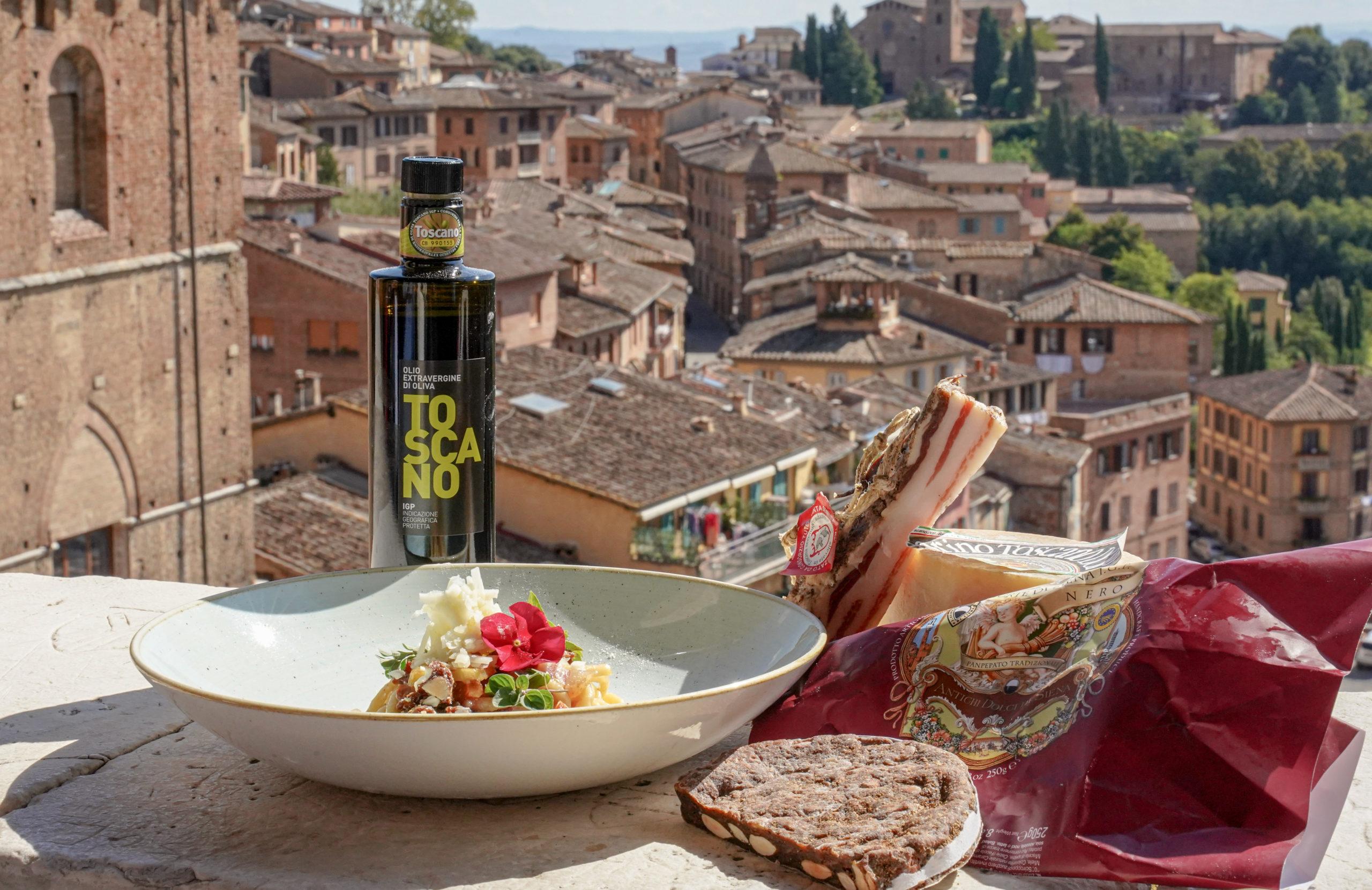 Jedzenie w Toskanii
