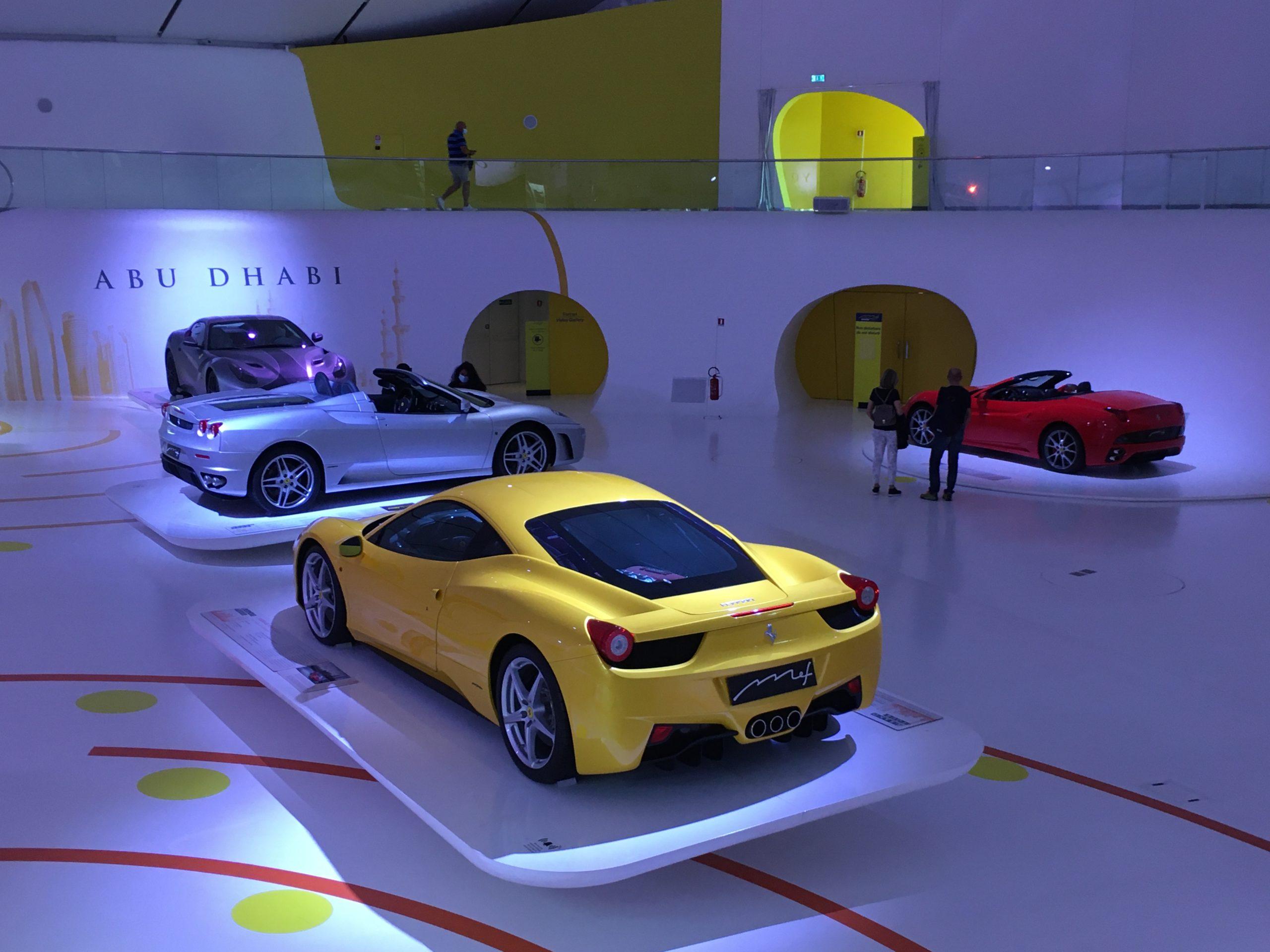 Muzeum Ferrari w Modenie