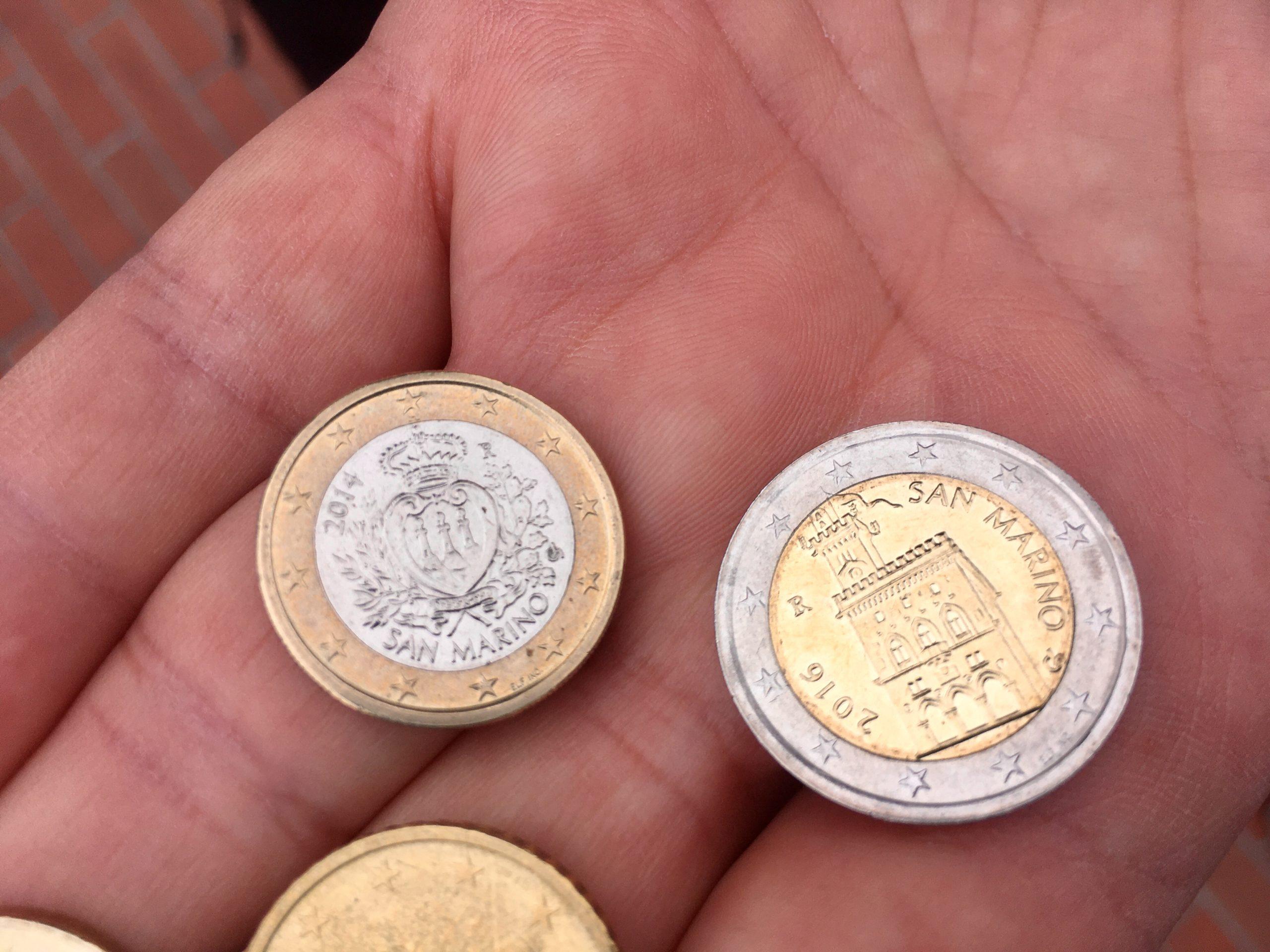 San Marino ma własne Euro