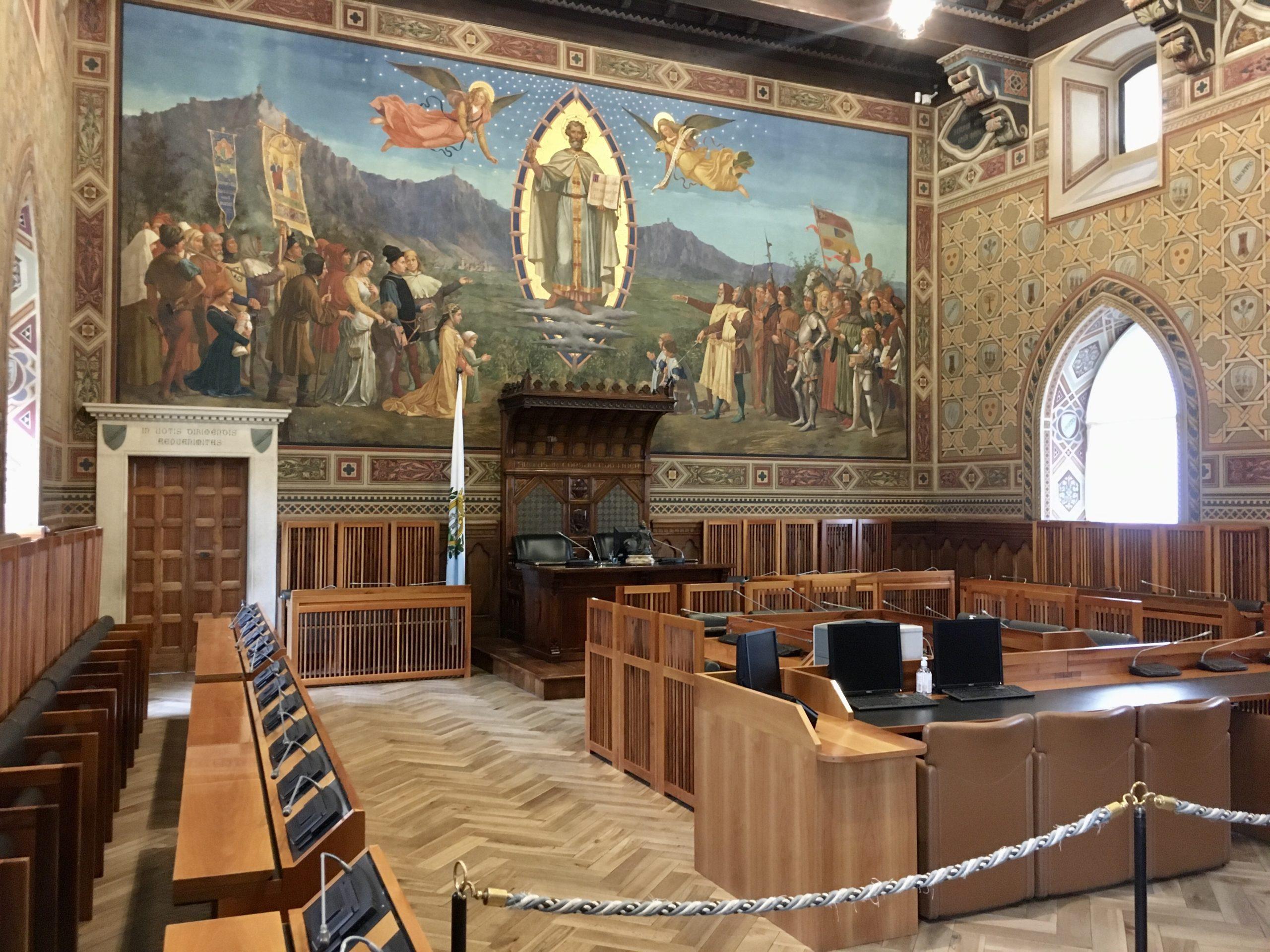 Sala Parlamentu San Marino