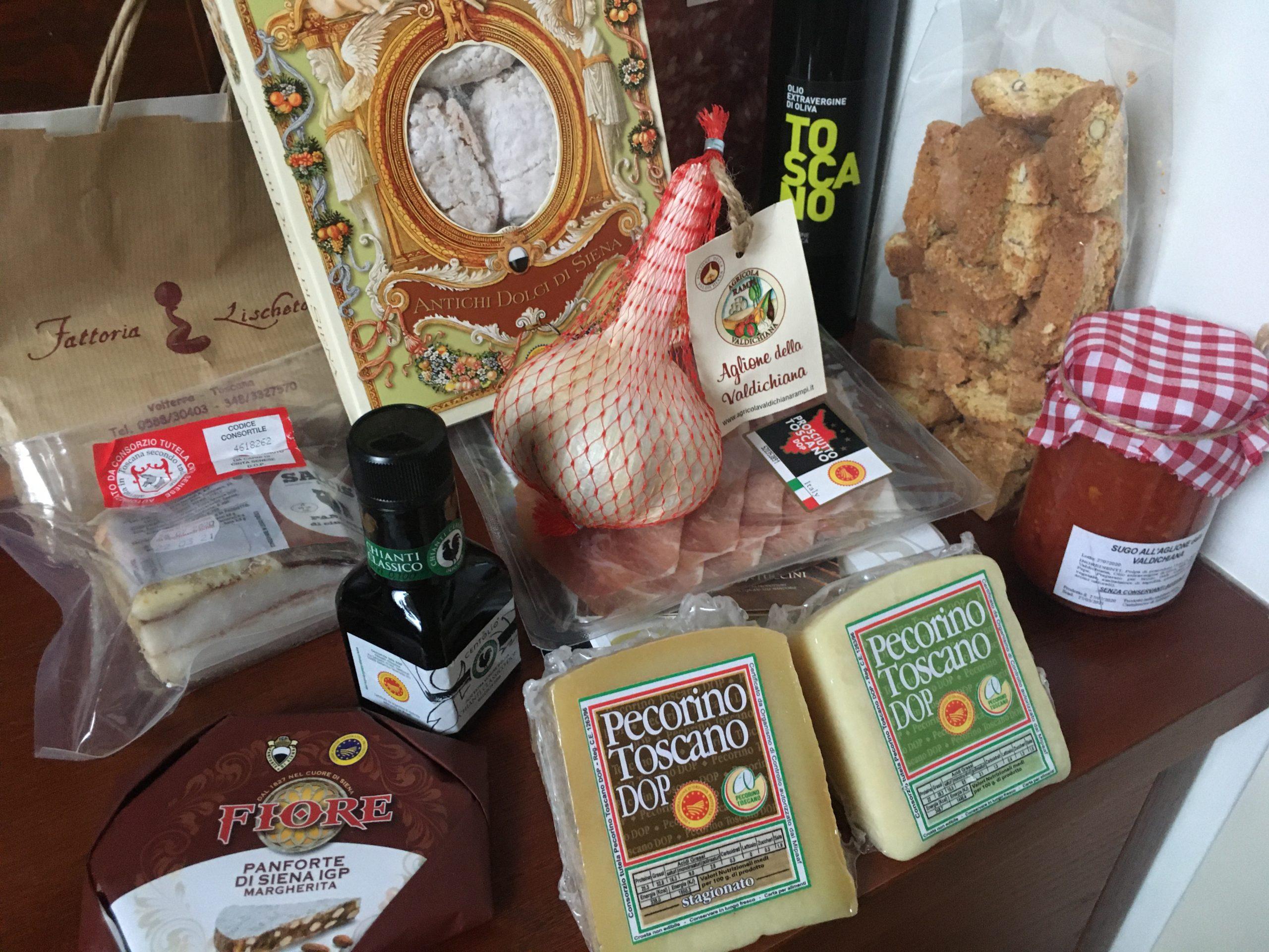 Oryginalne i tradycyjne toskańskie delikatesy