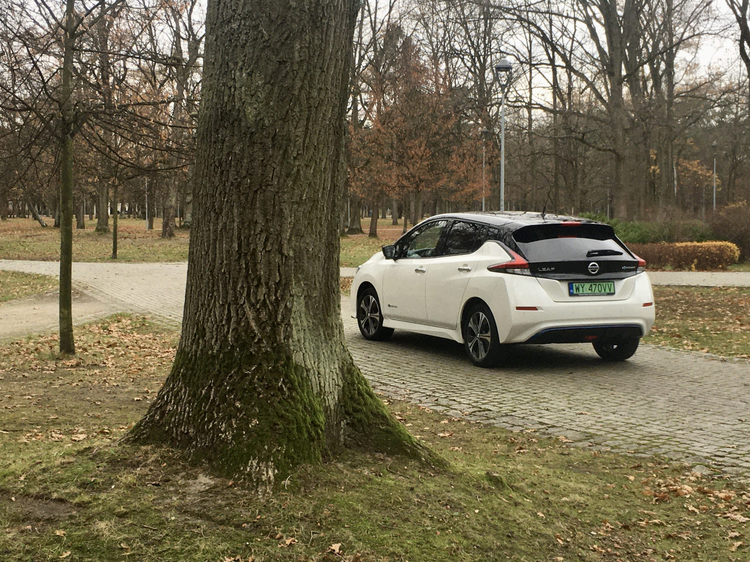 Zielone tablice Nissana LEAF'a to dowód bezemisyjności