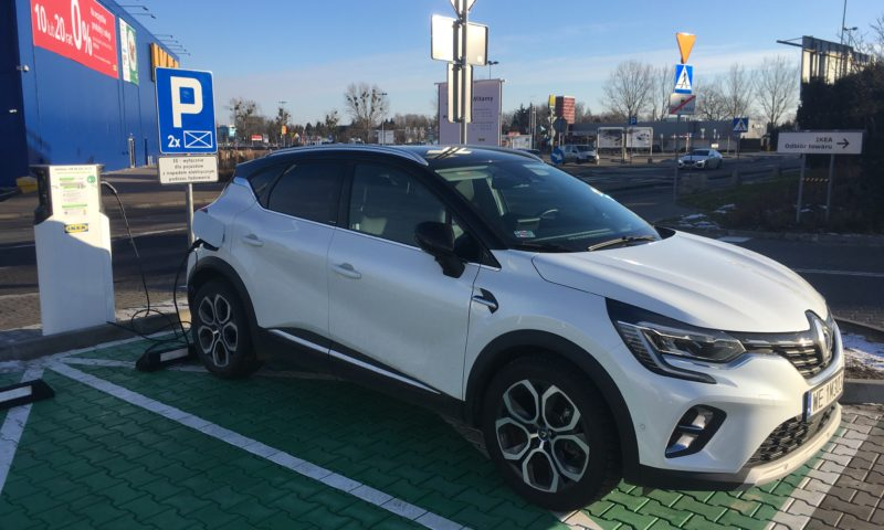 Renault Captur plug-in