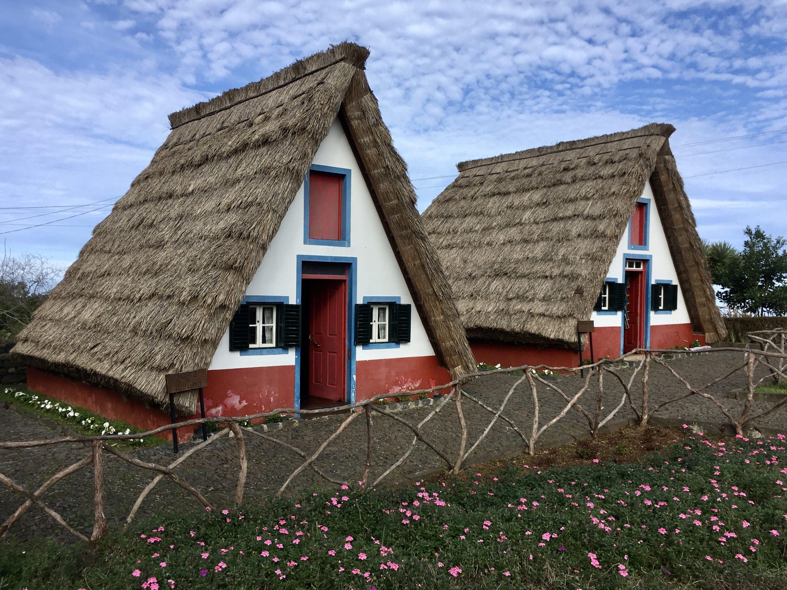 Kolorowe domki Santany