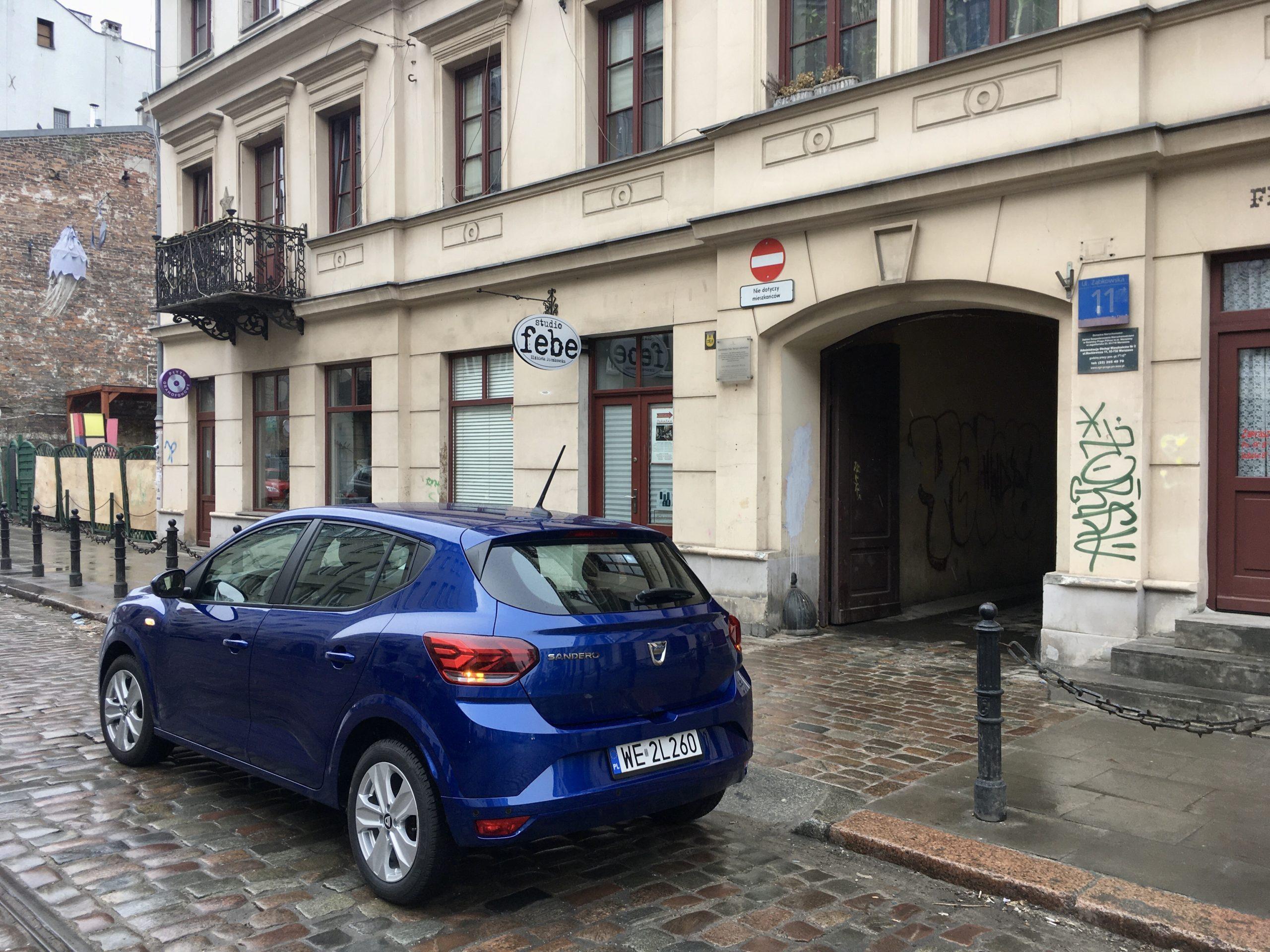 Dacia Sandero sprawdzi się w mieście i na trasie