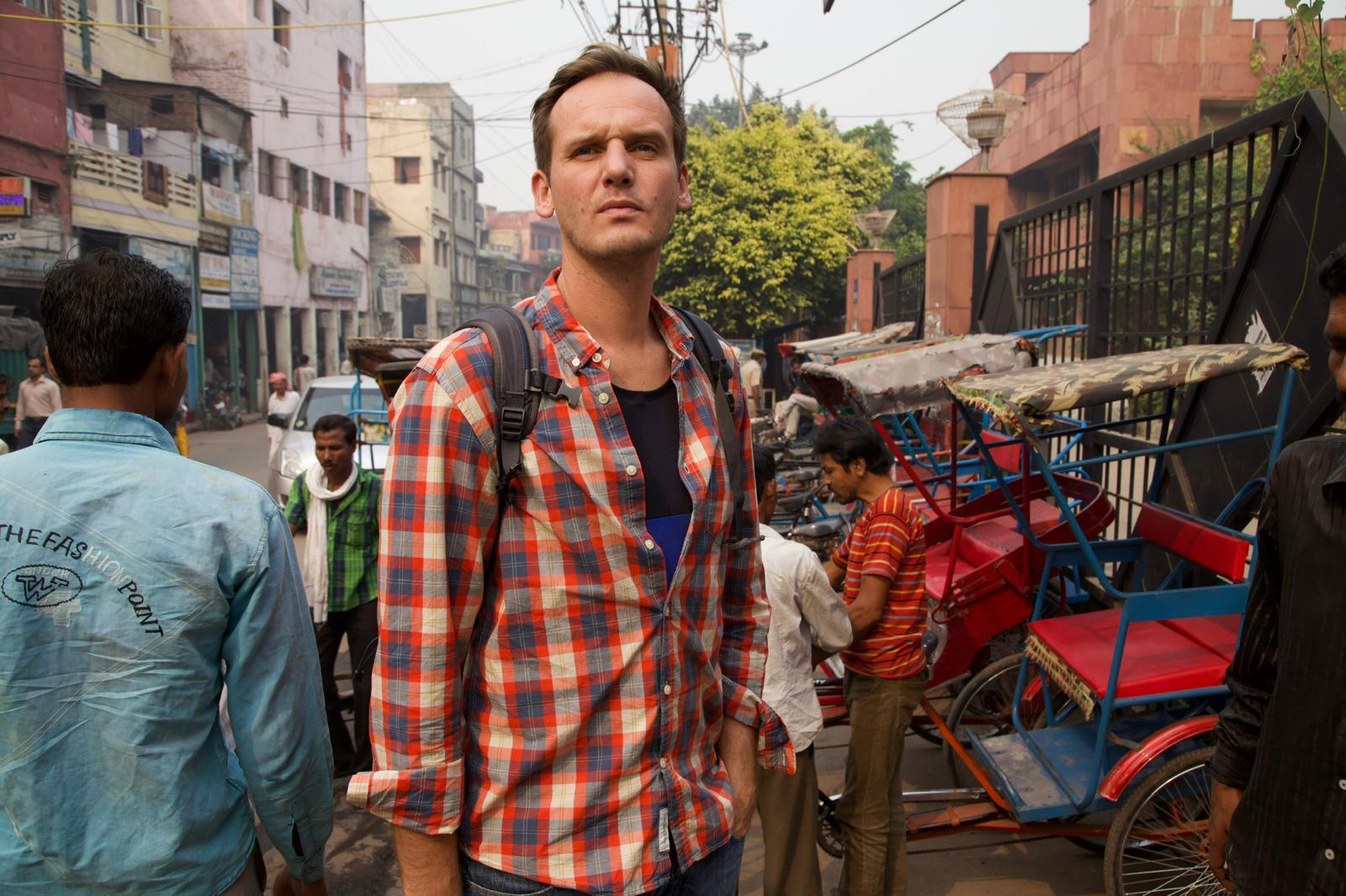 Pascal Brodnicki podczas podróży w Indiach