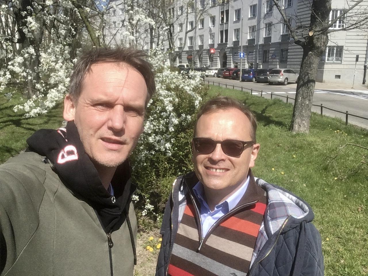 Pascal Brodnicki i Krzysztof Kowalski