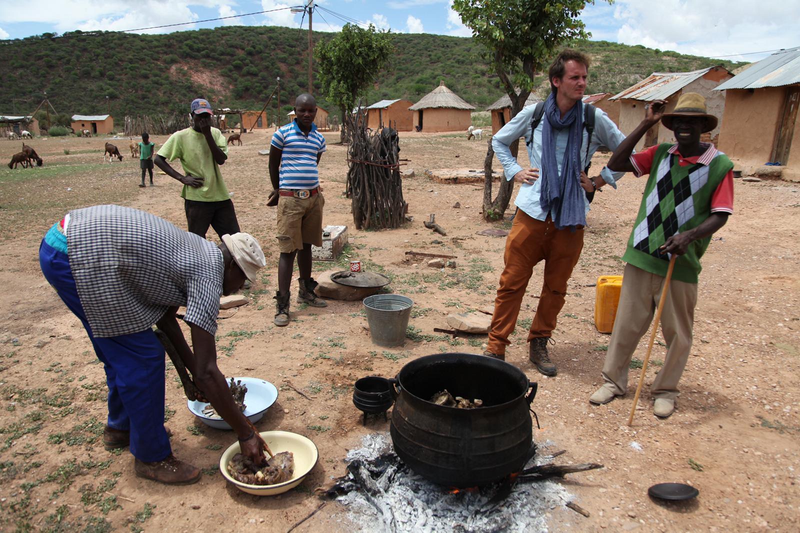 Kolejne kulinarne odkrycia Pascala Brodnickiego podczas podróży do Namibii