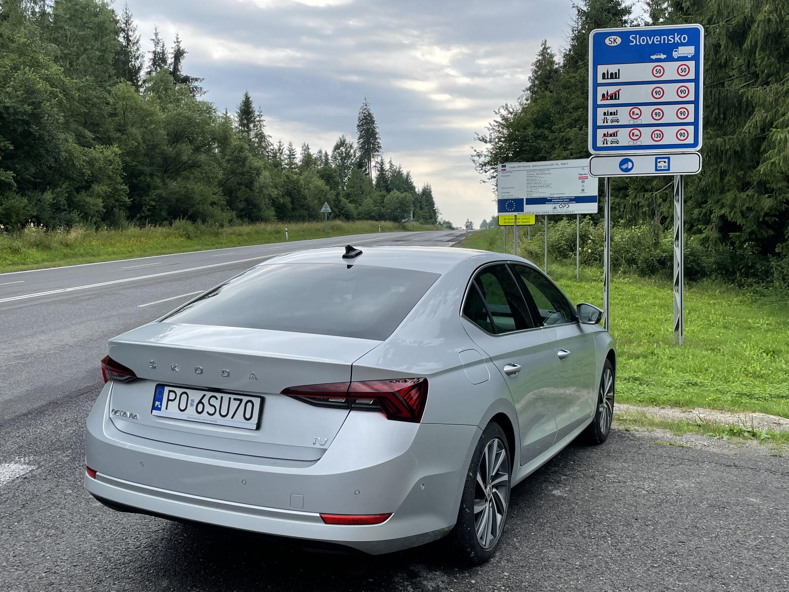 Za przejściem w Chyżnem zaczyna się słowacka Orawa