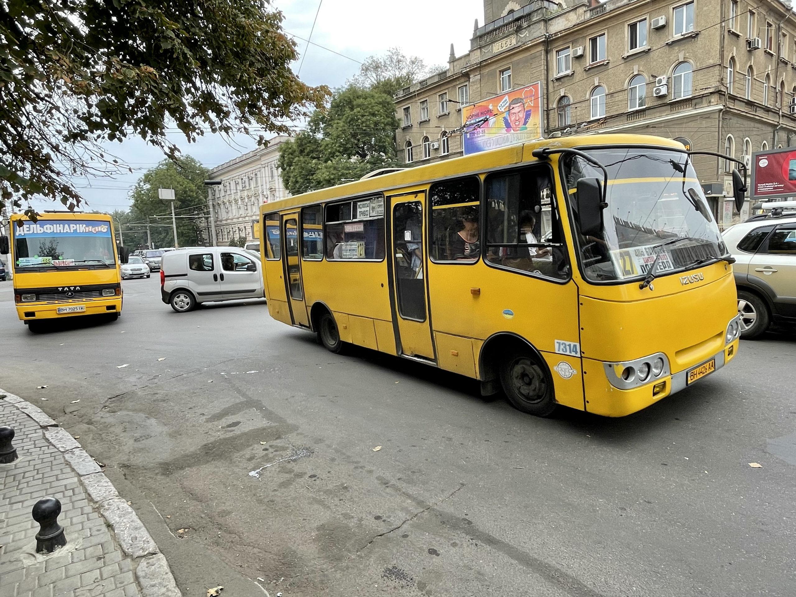 Typowa ukraińska marszrutka