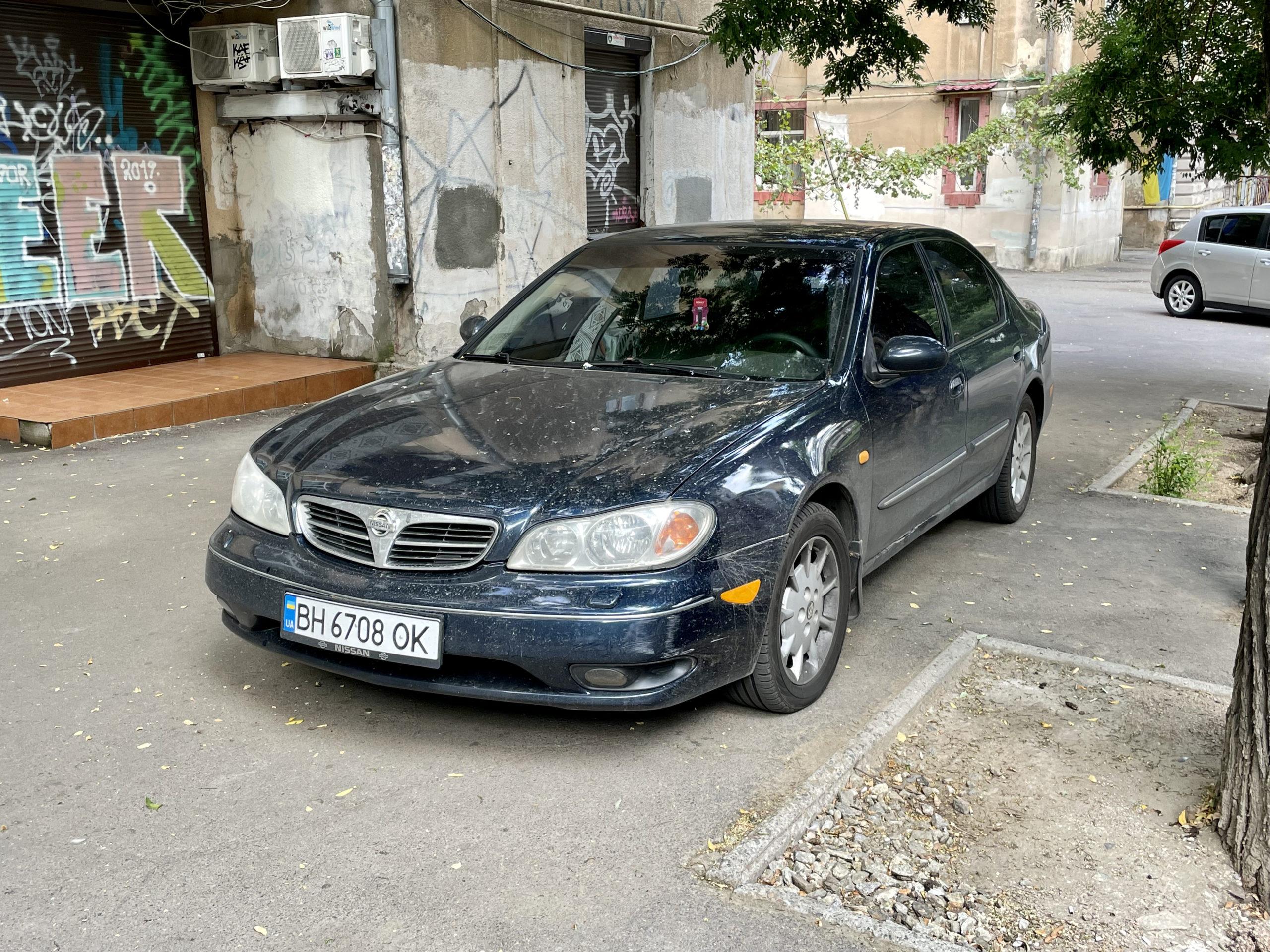 Nissan Maxima z silnikiem V6 musi się cieszyć uznaniem bo tych aut jest sporo na drogach Besarabii