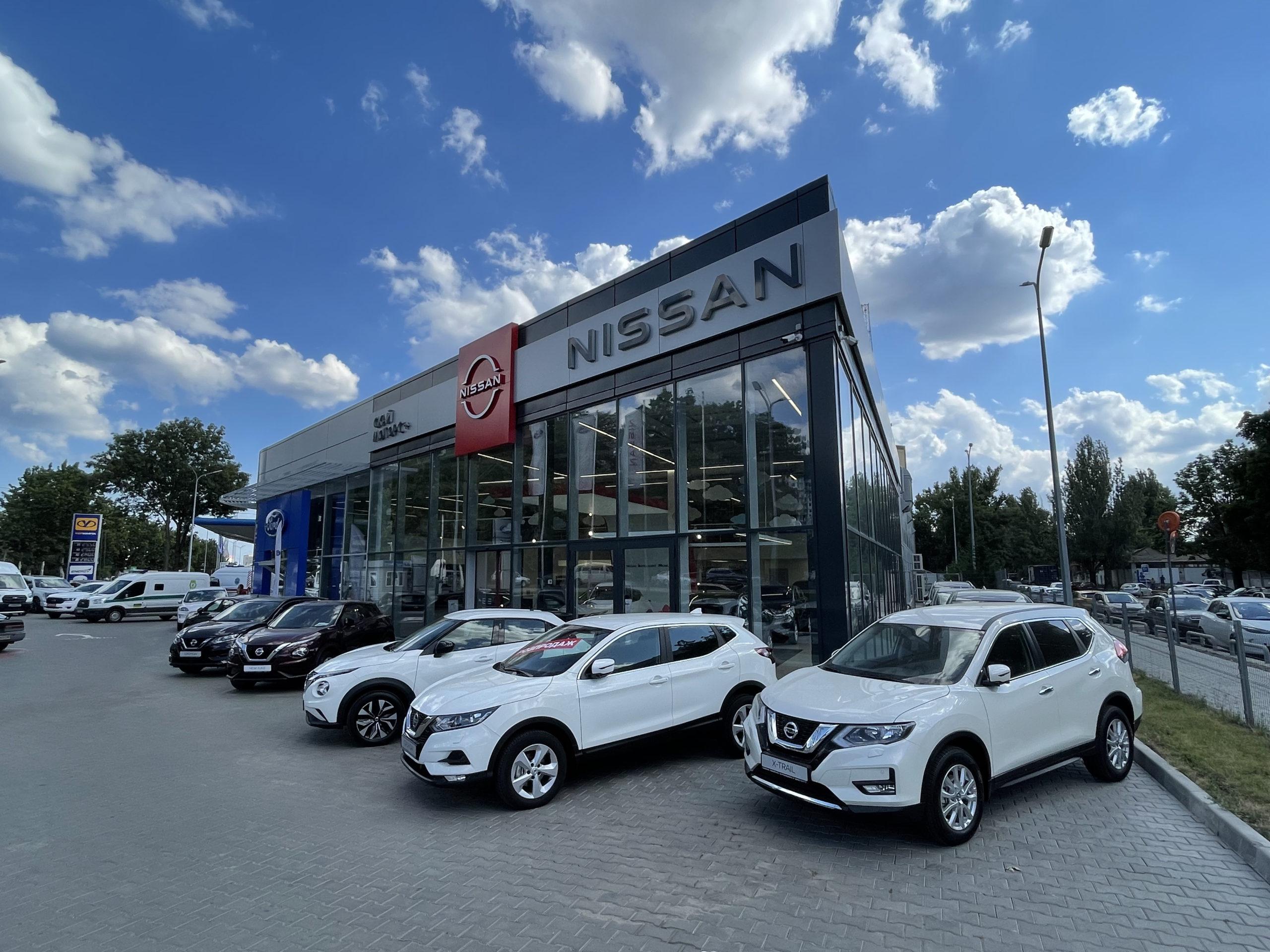 Salon Nissana zgodny z najnowszą wizualizacją marki
